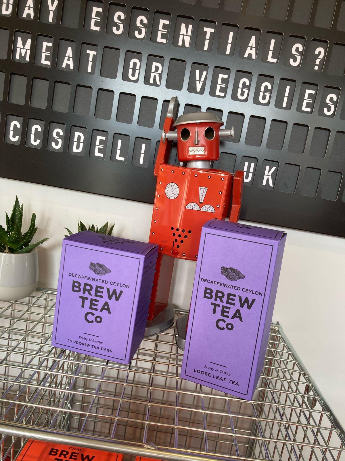 Brew Tea Co Decaffeinated - 1/4lb Loose Leaf