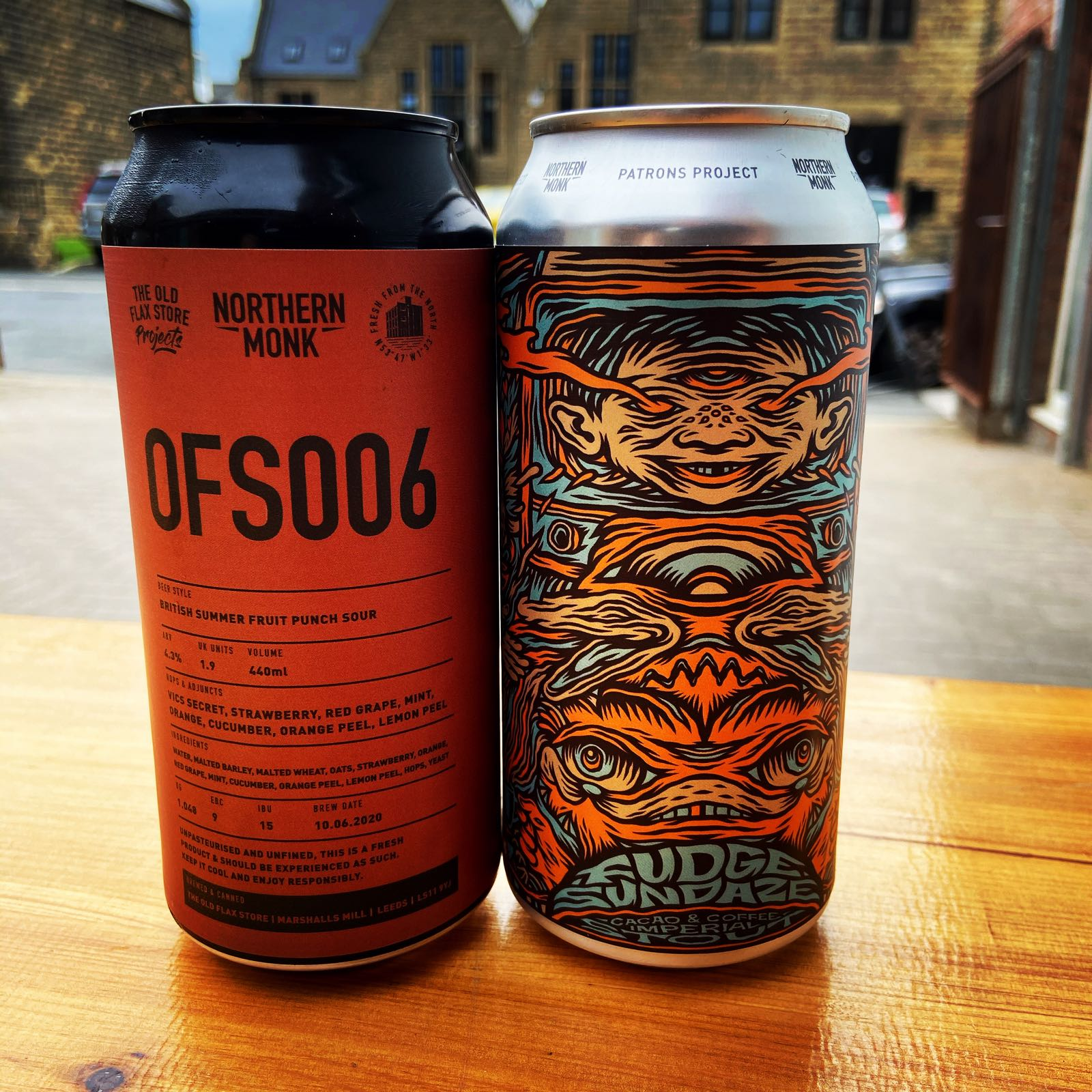 Northern Monk OFS006 Summer Fruit Sour 4.3%