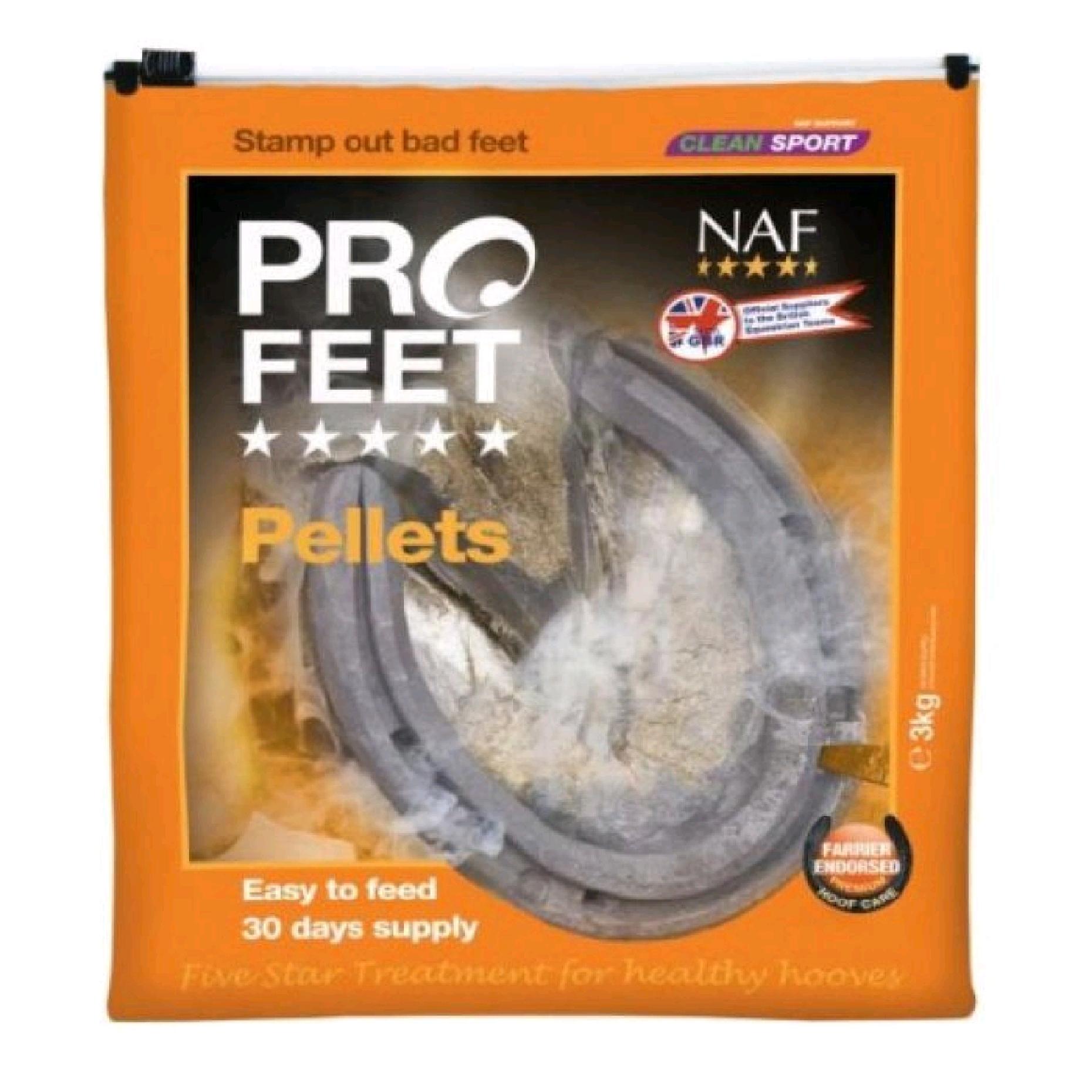NAF Pro Feet Pellets