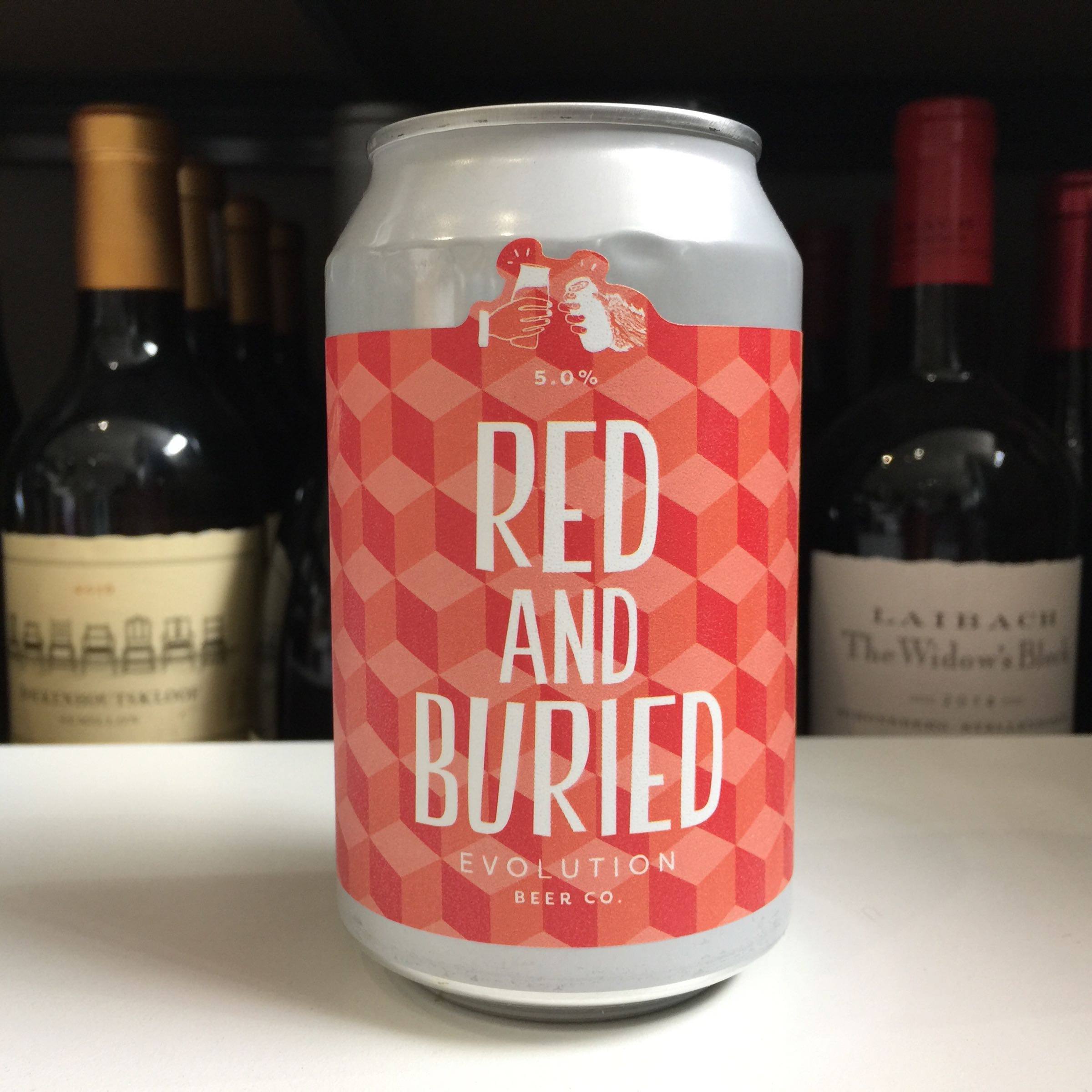 Evolution Beer 'Red and Buried' Red Ale 330ml 5% ABV