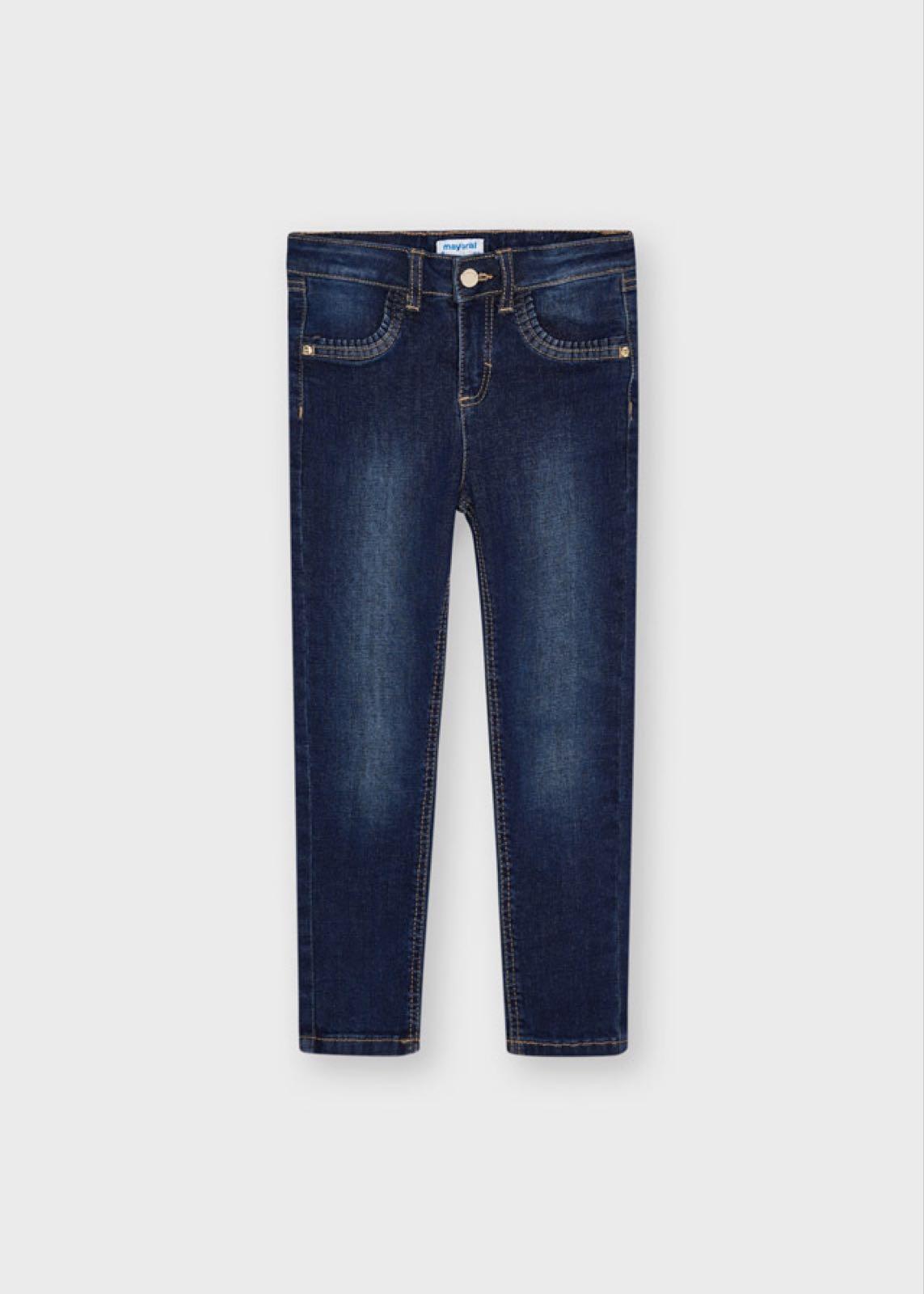 MAYORAL GIRLS Basic Skinny Jeans Dark Blue 527-60