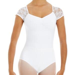 Intermezzo, valkoinen balettipuku hihoilla