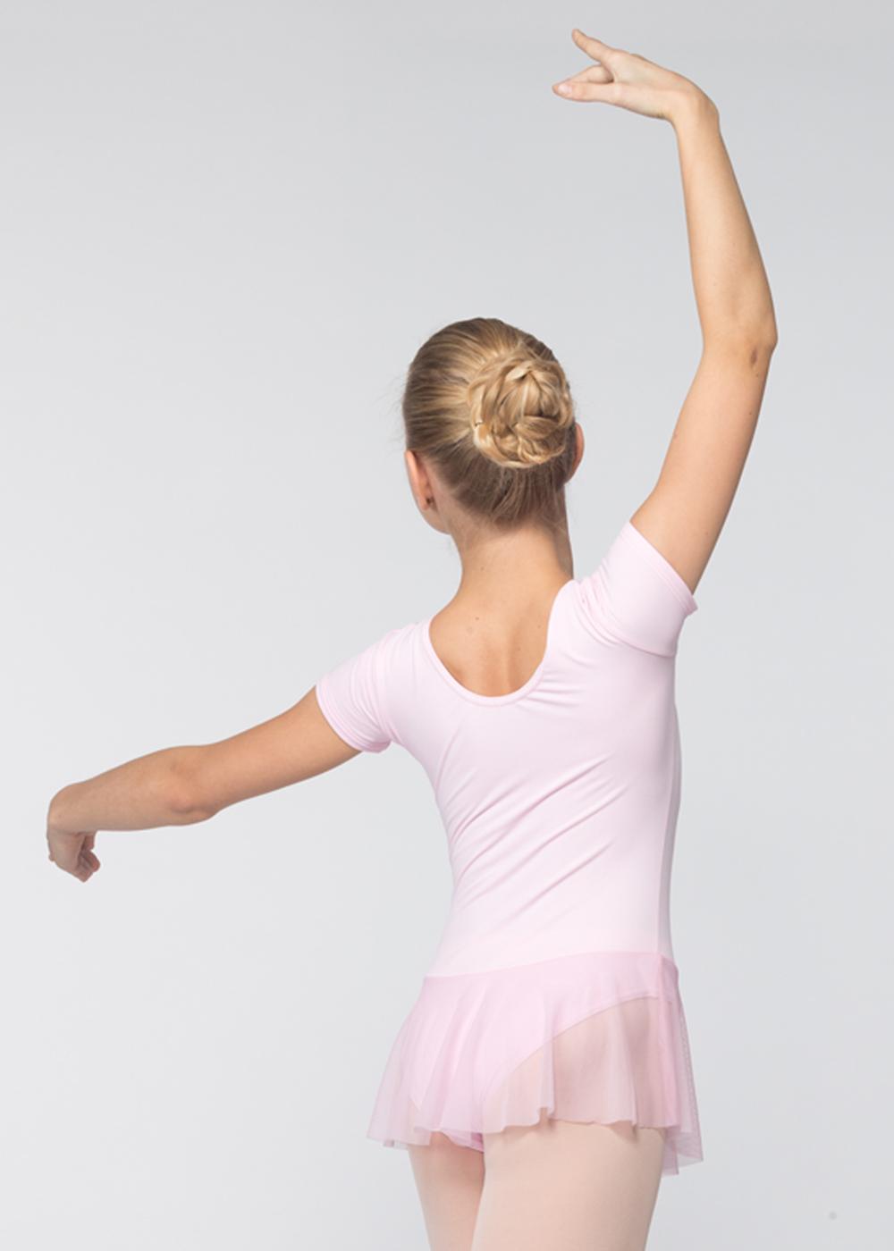 Grishko, vaaleanpunainen lasten balettipuku hameella