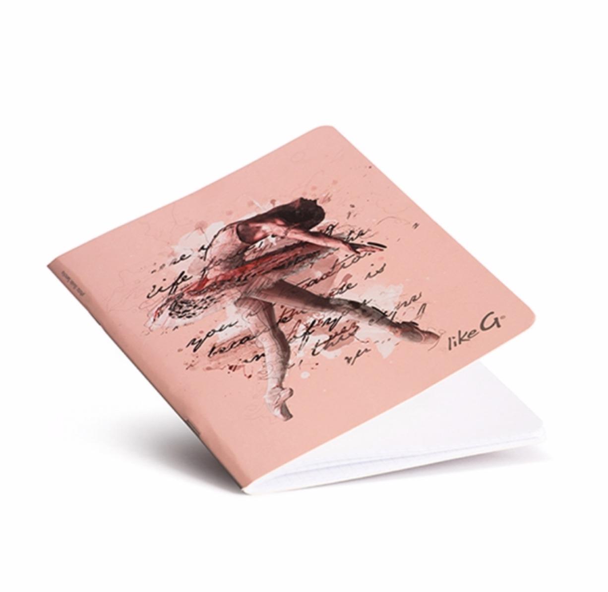 Vaaleanpunainen baletti -vihko