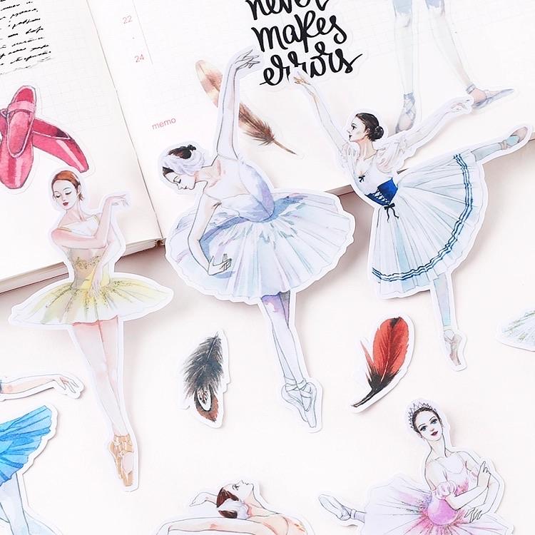 Balettitanssija -tarrat