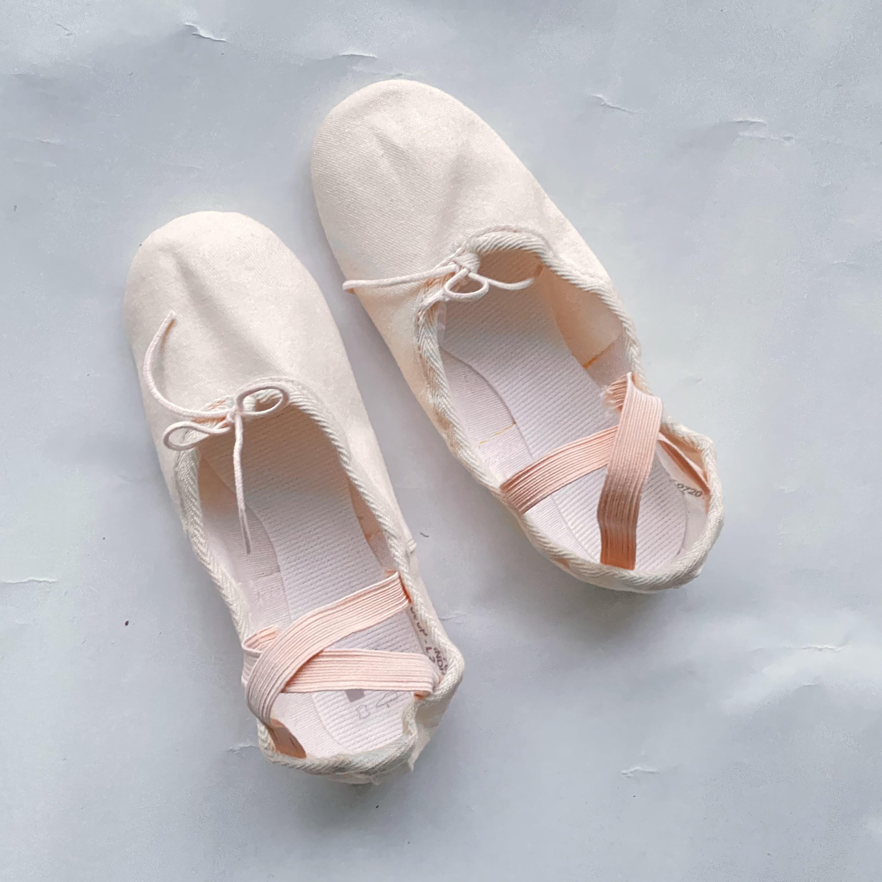 1st position, balettitossut lapsille