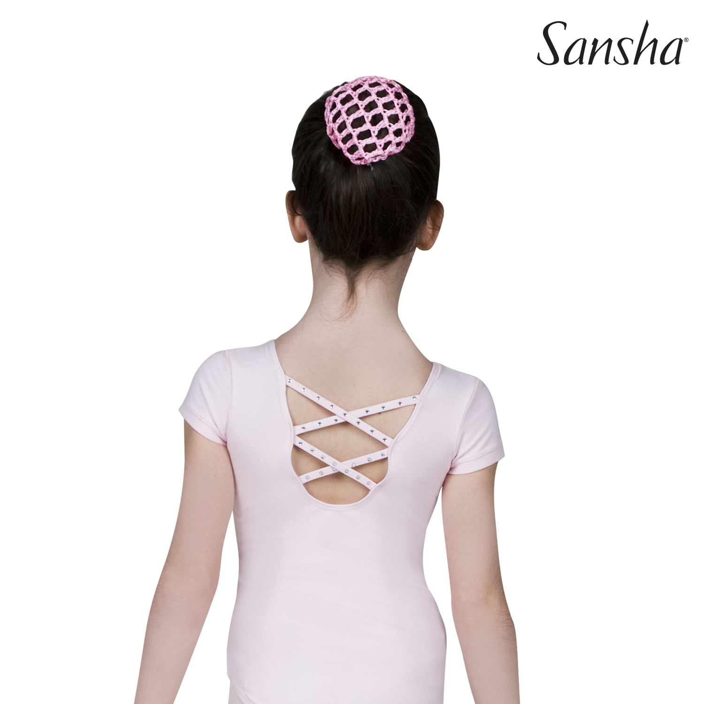 Sansha, lasten vaaleanpunainen balettipuku, Faustina