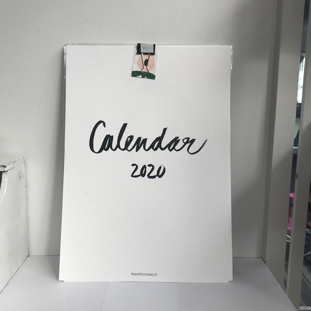 Kepardi company, seinäkalenteri