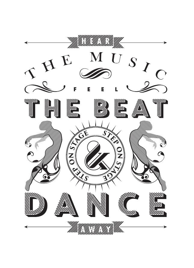 Feel the Beat -postikortti