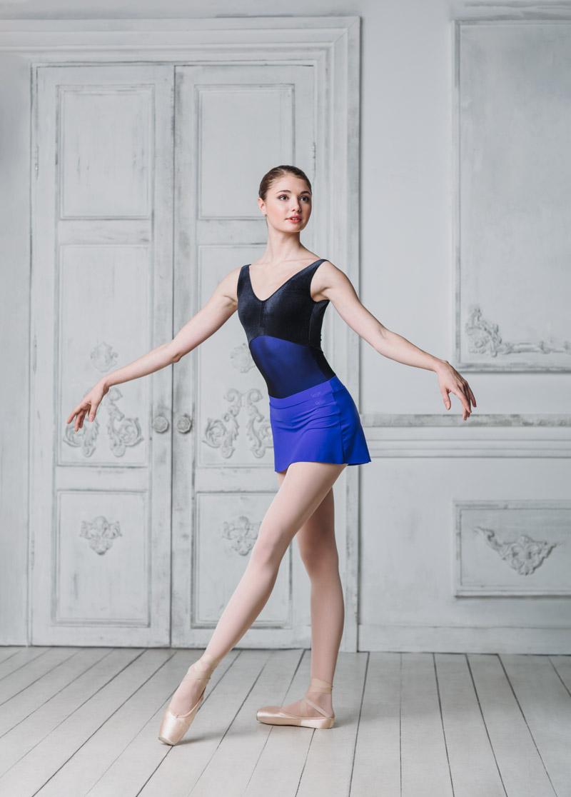 Grishko, pinkki sametti/mesh balettipuku
