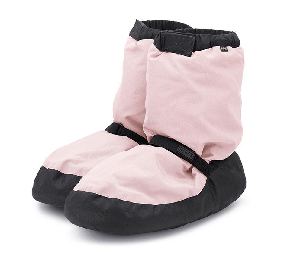 Bloch, vaaleanpunaiset lämmittelytossut