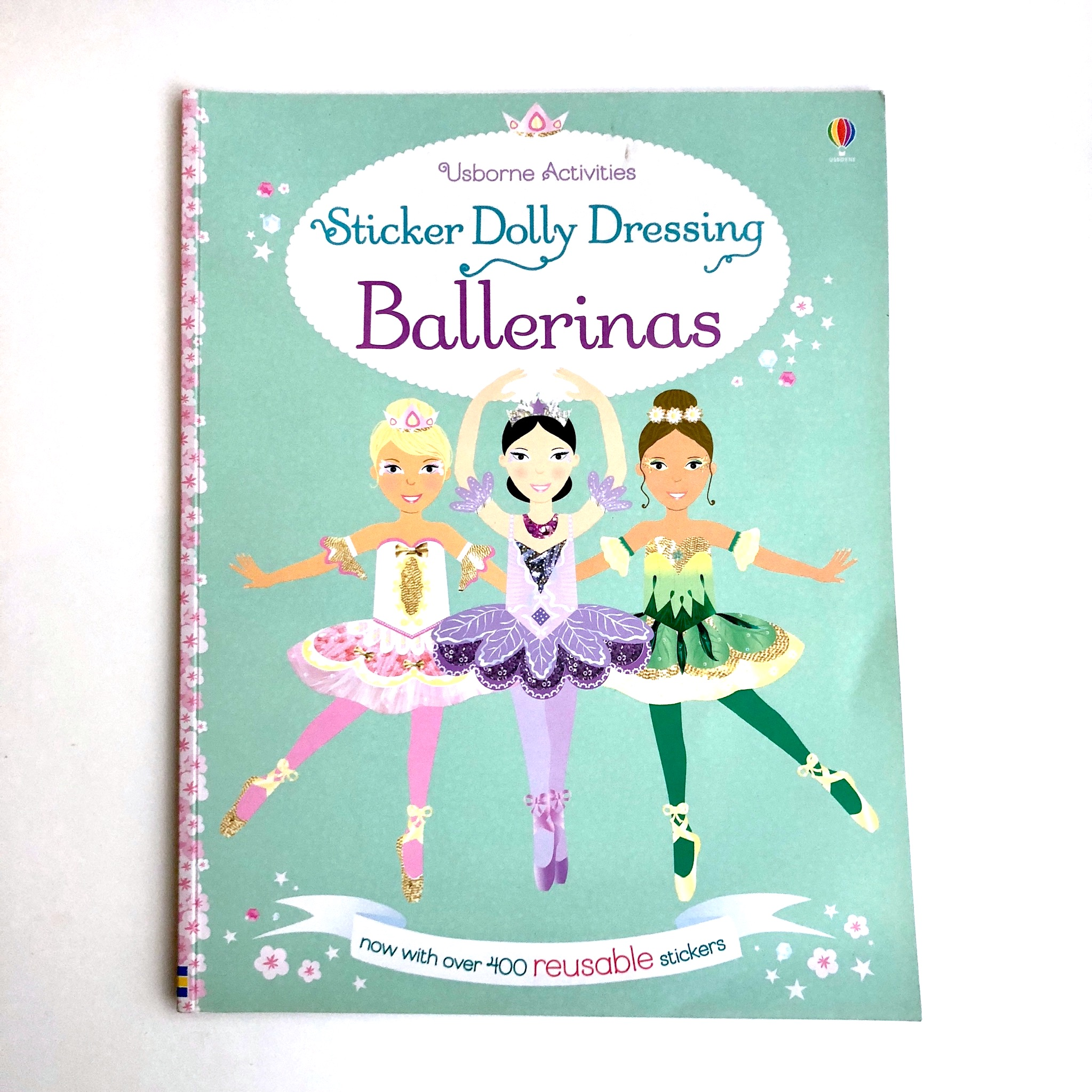 Dressing Ballerinas -tarrapuuhakirja