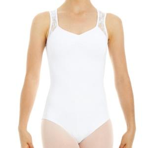 Intermezzo, valkoinen hihaton balettipuku