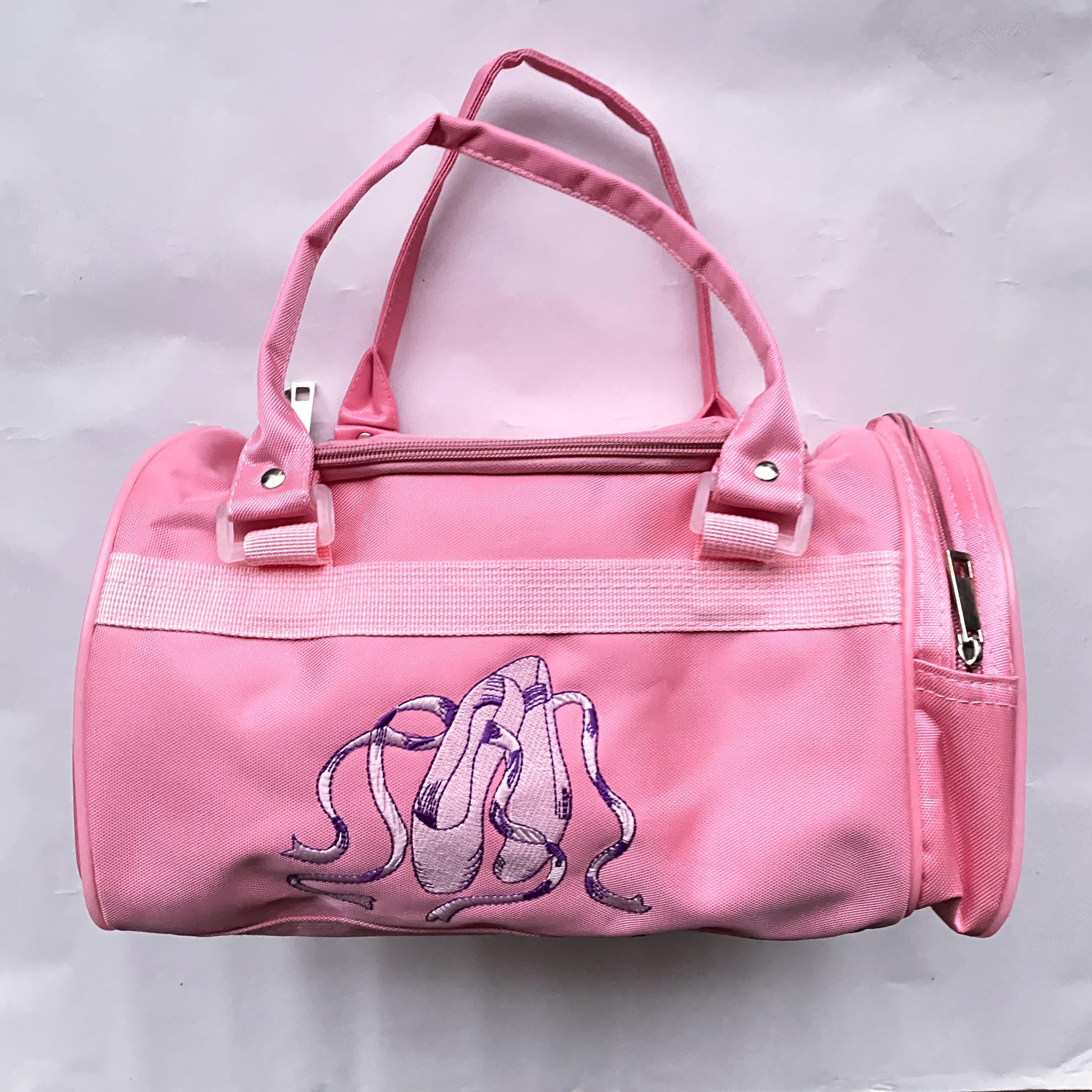 Lasten pinkki balettilaukku