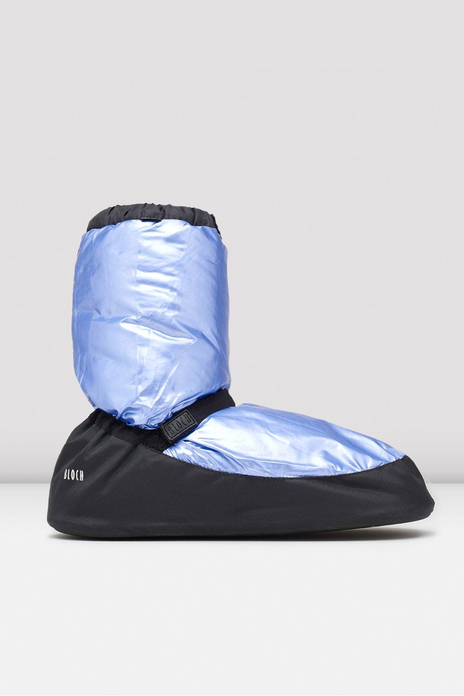 Bloch, metallic blue lämmittelytossut