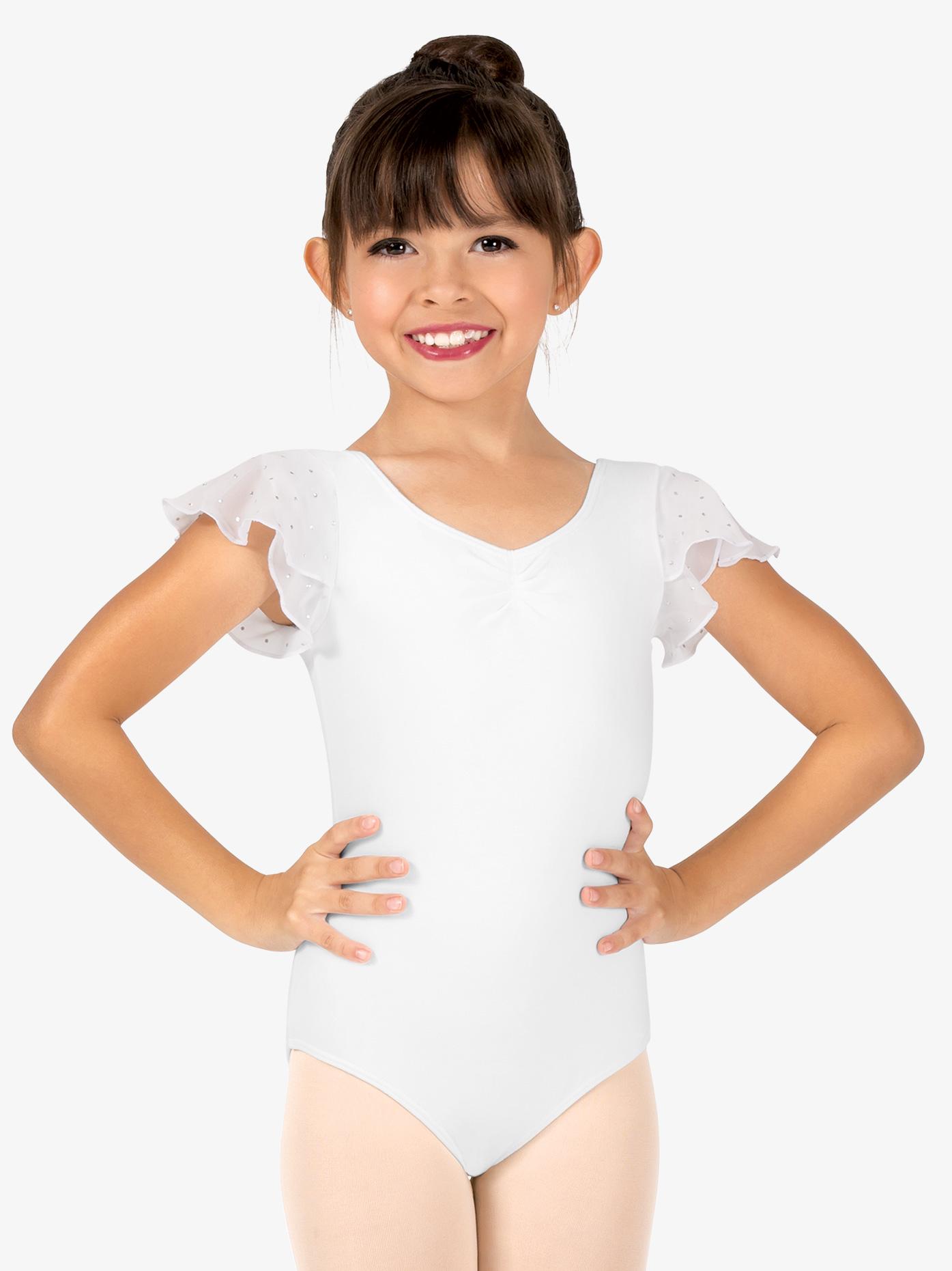 Bloch, lasten valkoinen balettipuku, Scarlett