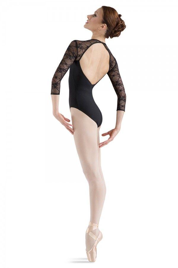 Bloch, pitsinen balettipuku hihoilla