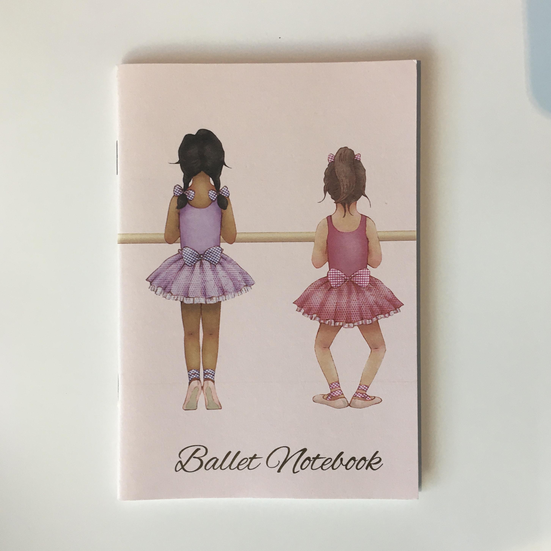 Little Ballerina, baletti -vihko, A6