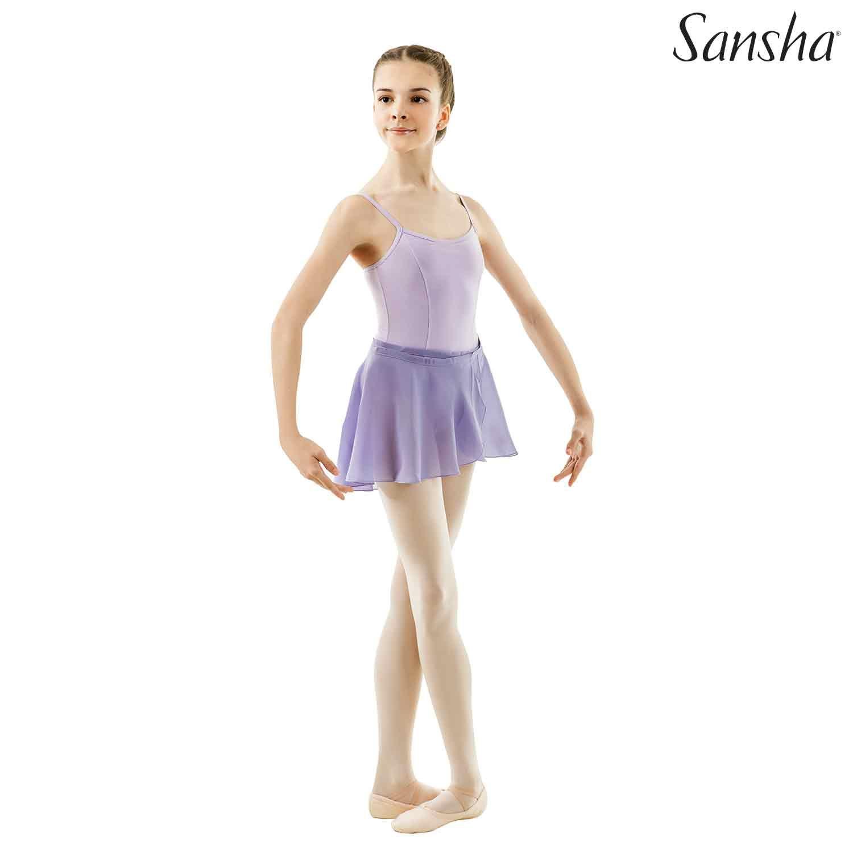 Sansha, lasten liila Alizee balettihame