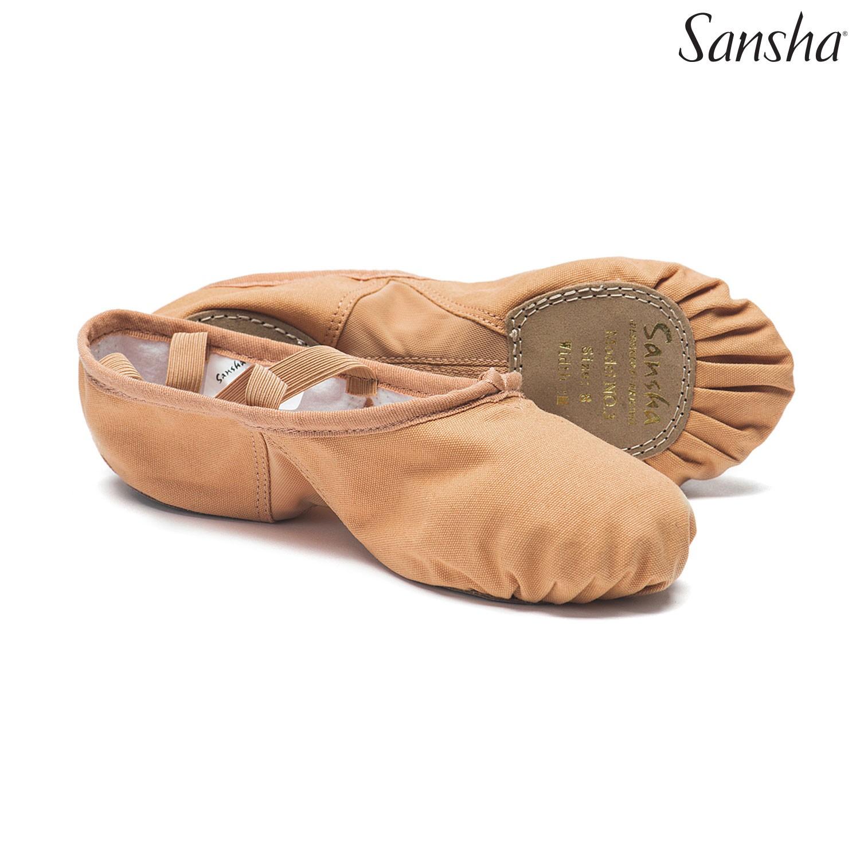 Sansha Silhouette, balettitossut, nude