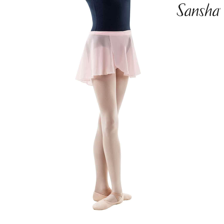 Sansha, lasten vaaleanpunainen Alizee balettihame
