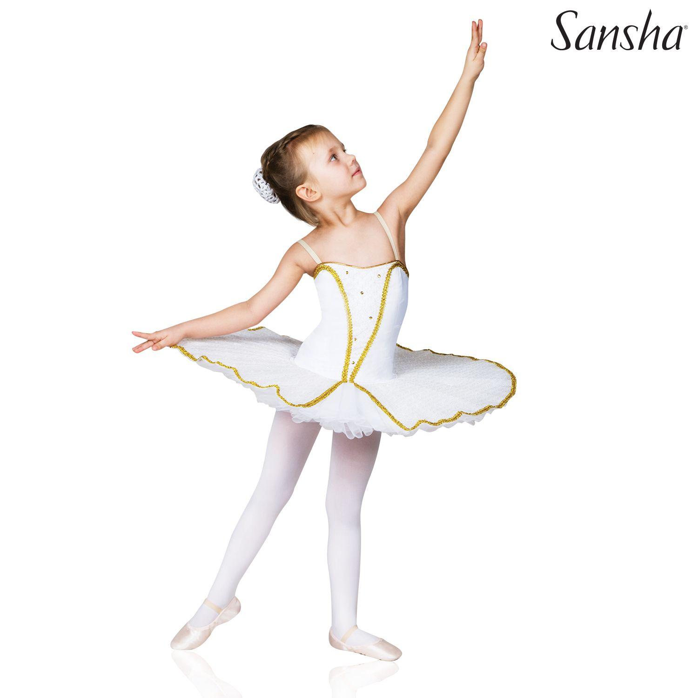 Sansha, nuorten valkokultainen tutu
