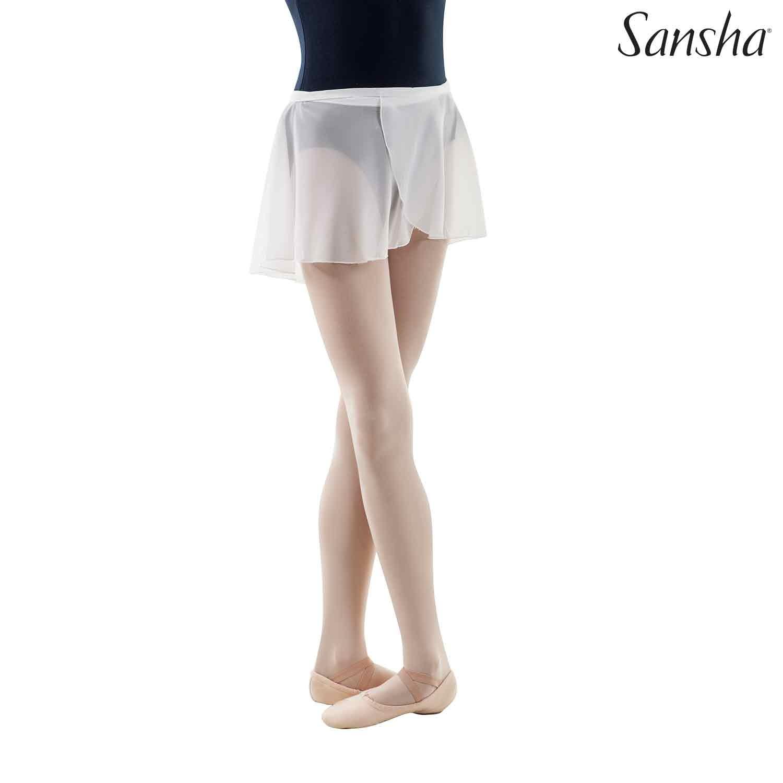 Sansha, lasten vaaleanturkoosi Alizee balettihame