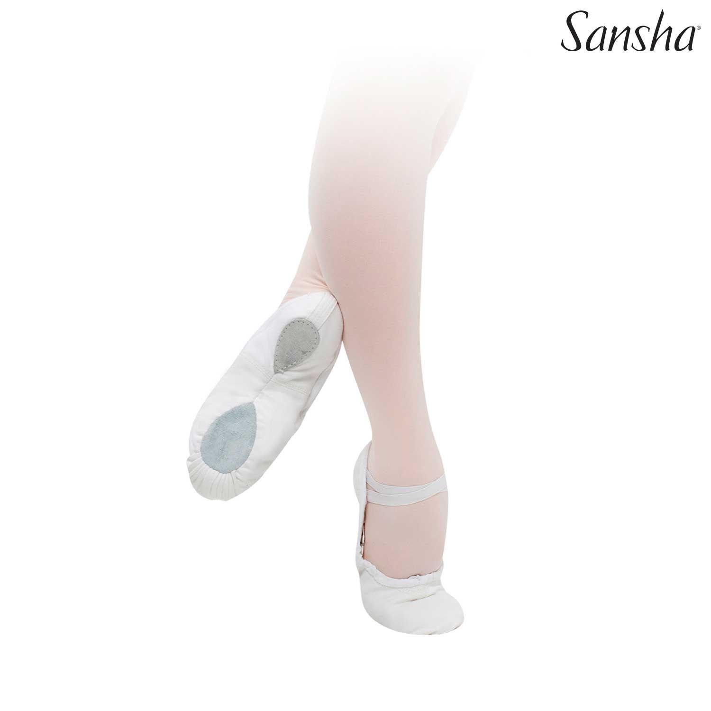 Sansha Pro, balettitossut, valkoinen