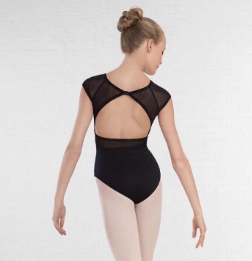 1st position, mesh-avoselkä balettipuku
