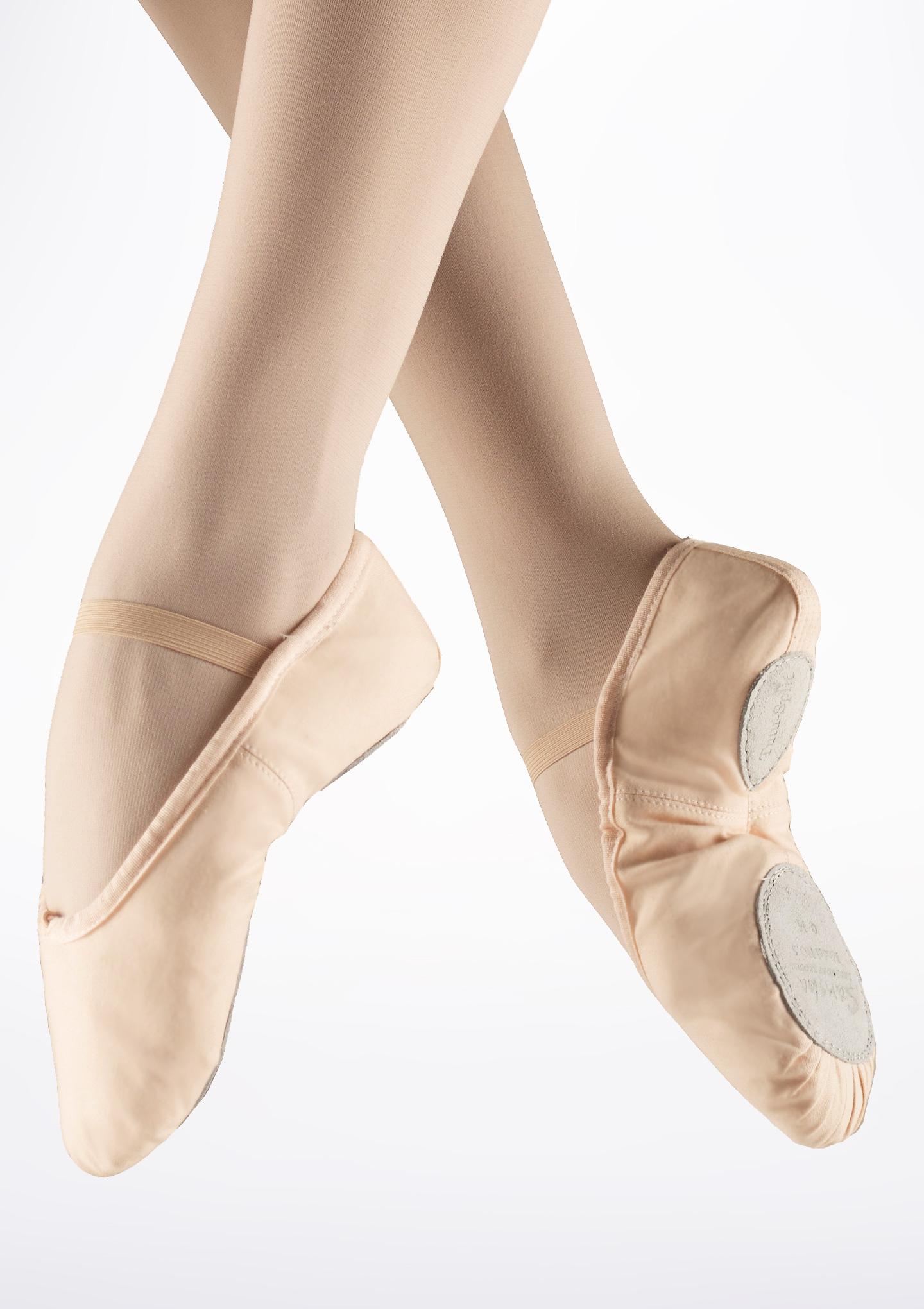 Sansha Tutu-split, balettitossut lapsille, puuteri