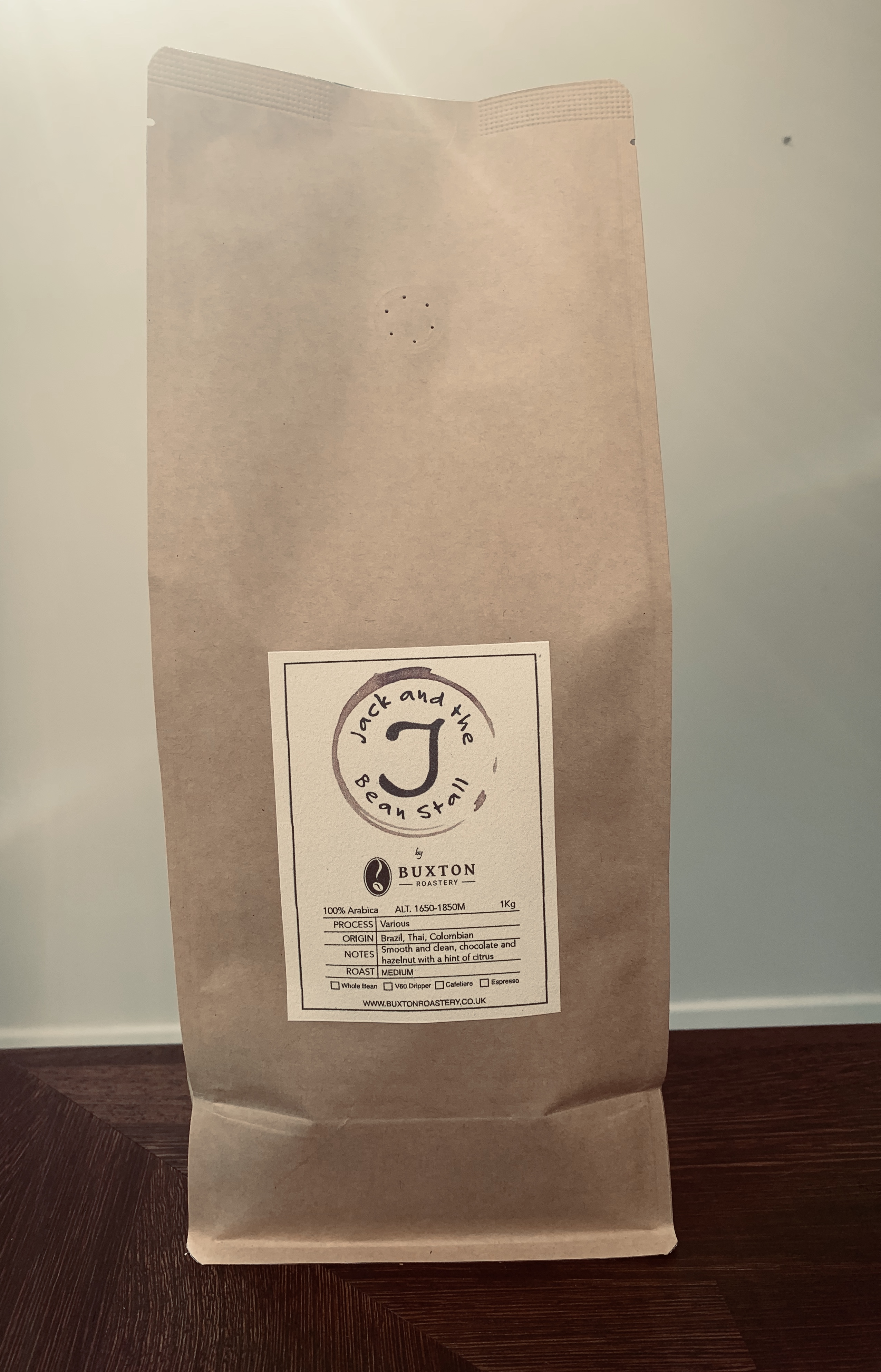 Decaffeinated Coffee 1kg