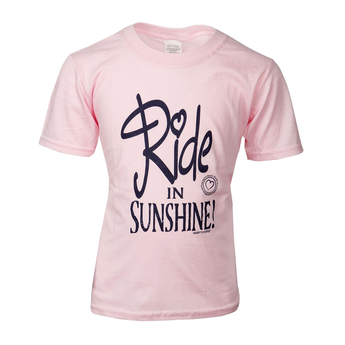 Harry's Horse T-Shirt Quote Kids Rosa