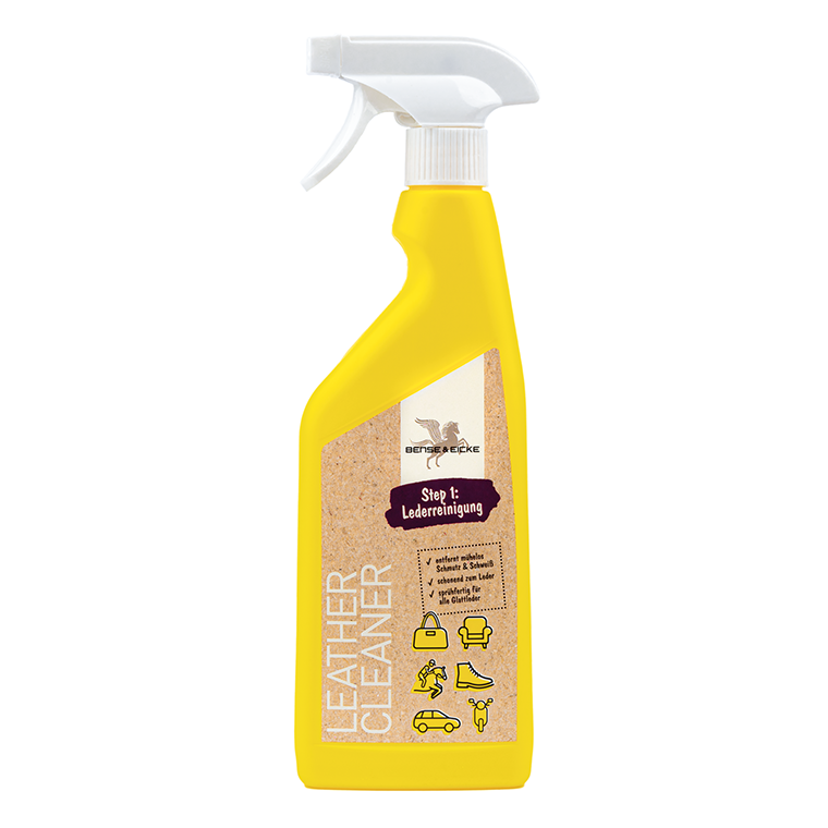 Bense & Eicke Leather Cleaner - Step 1