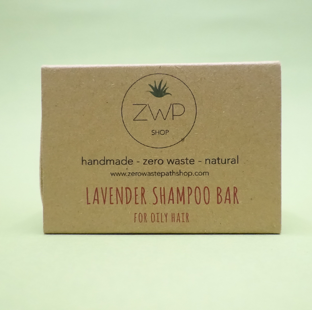 Lavender Shampoo Bar - Zero Waste Path