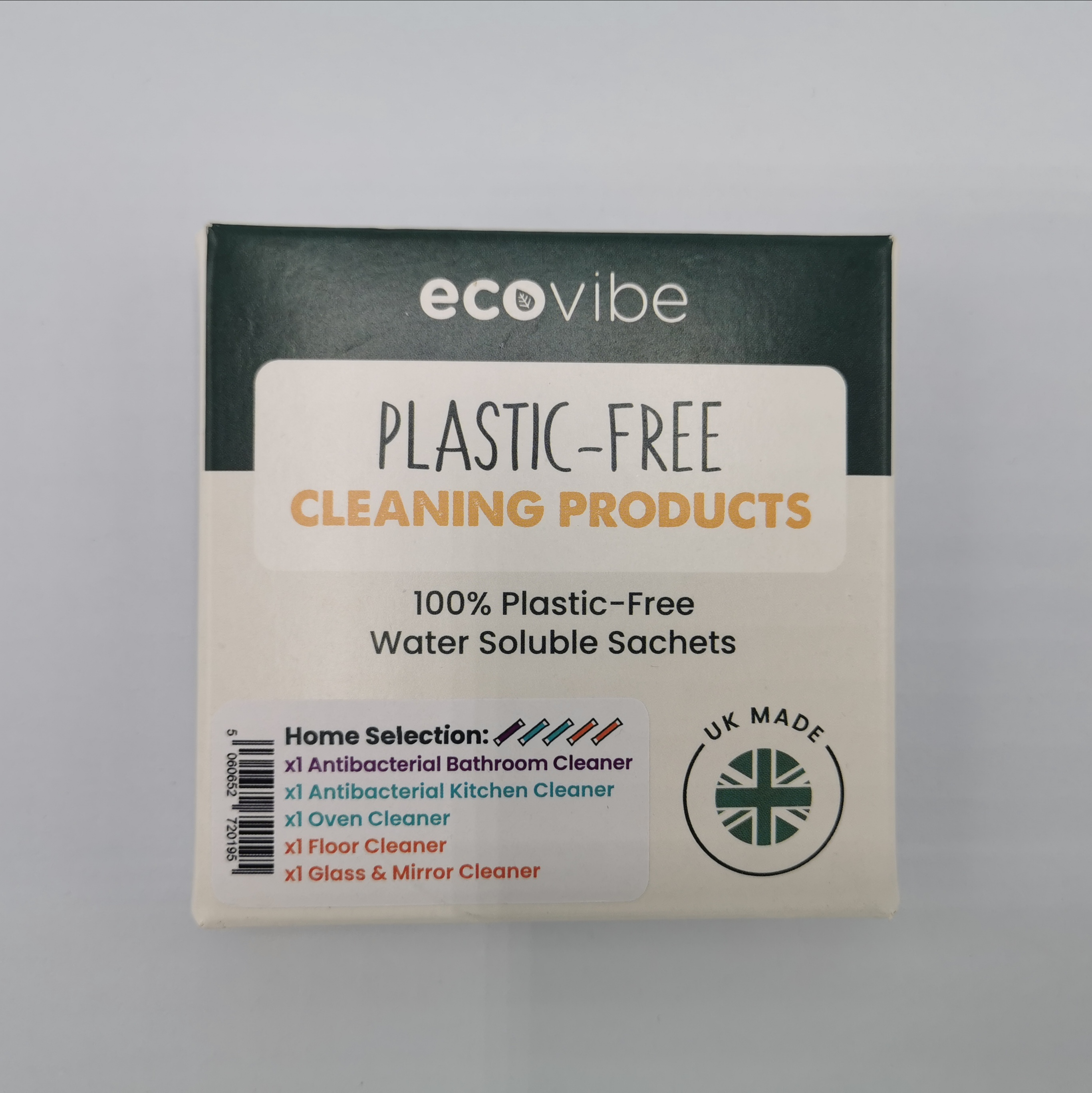 Plastic Free Soluble Cleaning sachets