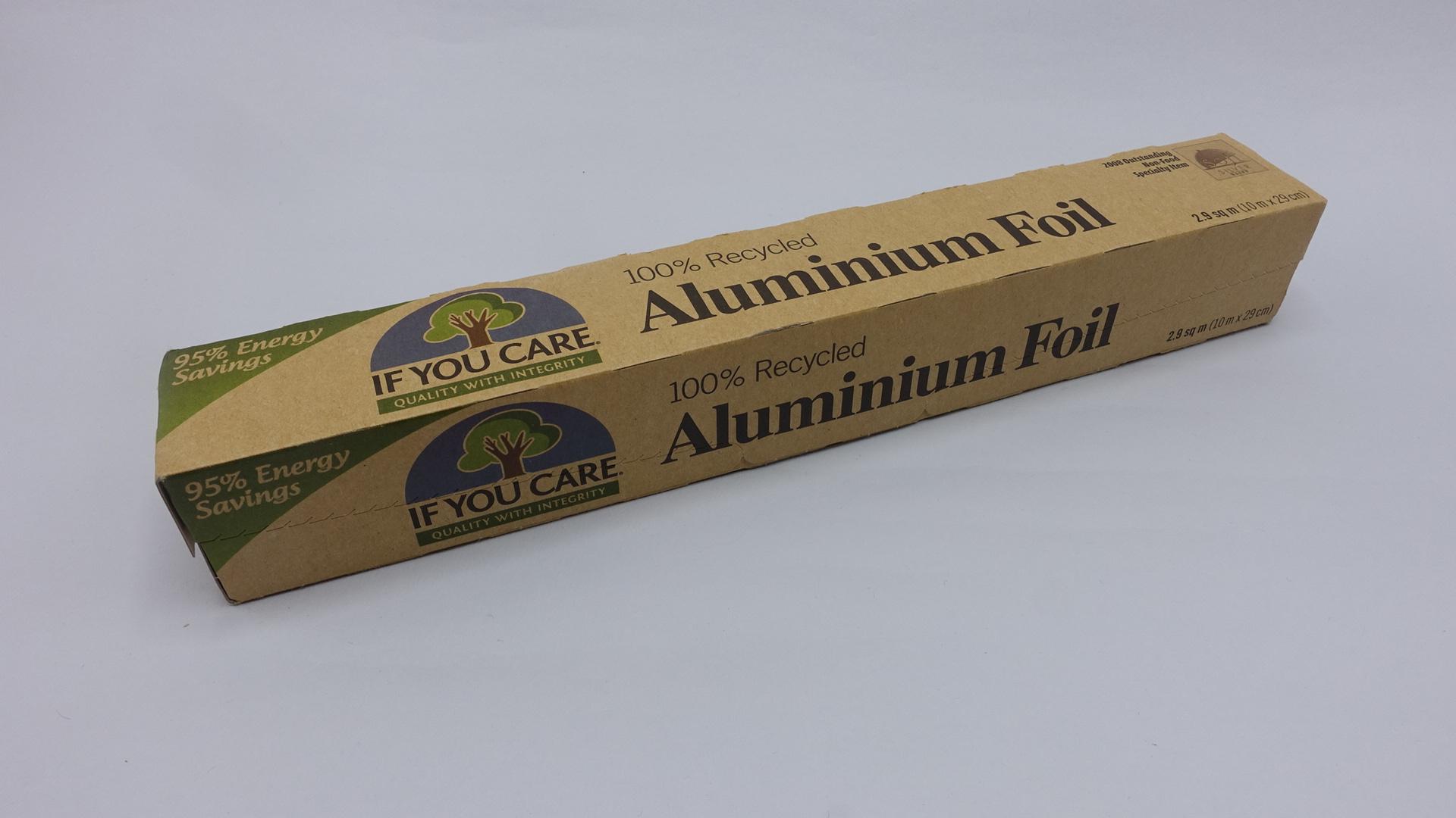 Recycled Aluminium Foil