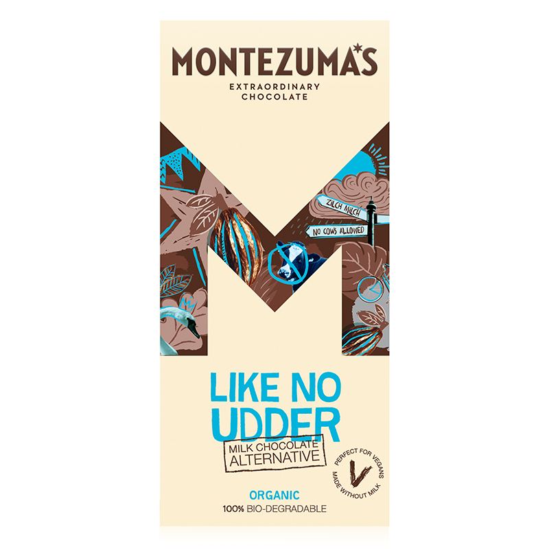 Montezumas Vegan Milk Chocolate