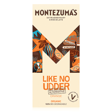 Montezuma chocolate orange - vegan