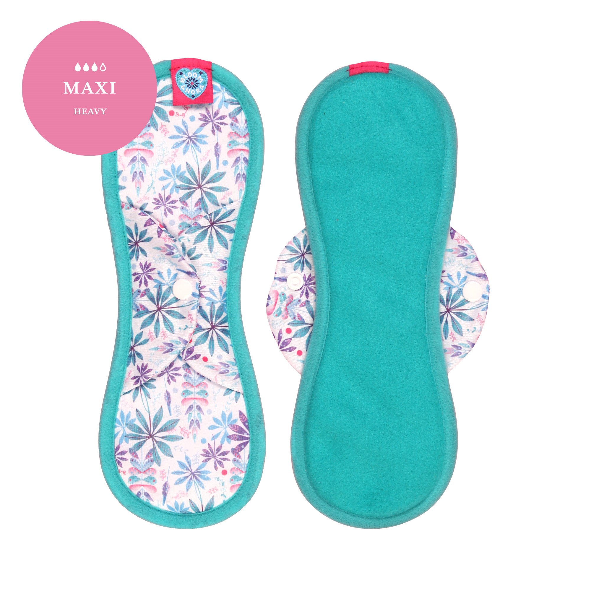Maxi Sanitary Towel - Bloom and Nora
