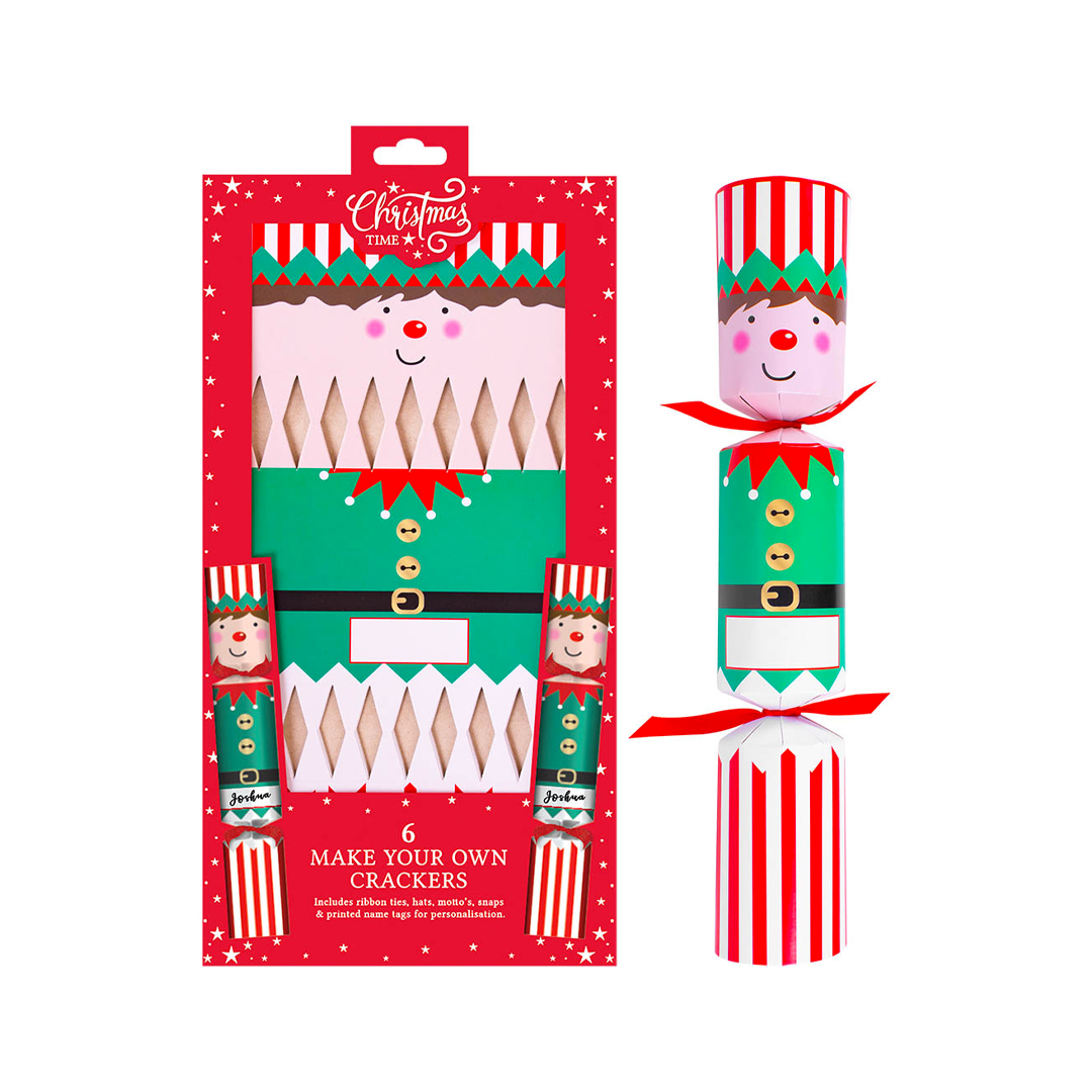 Make Your Own Crackers - Elves