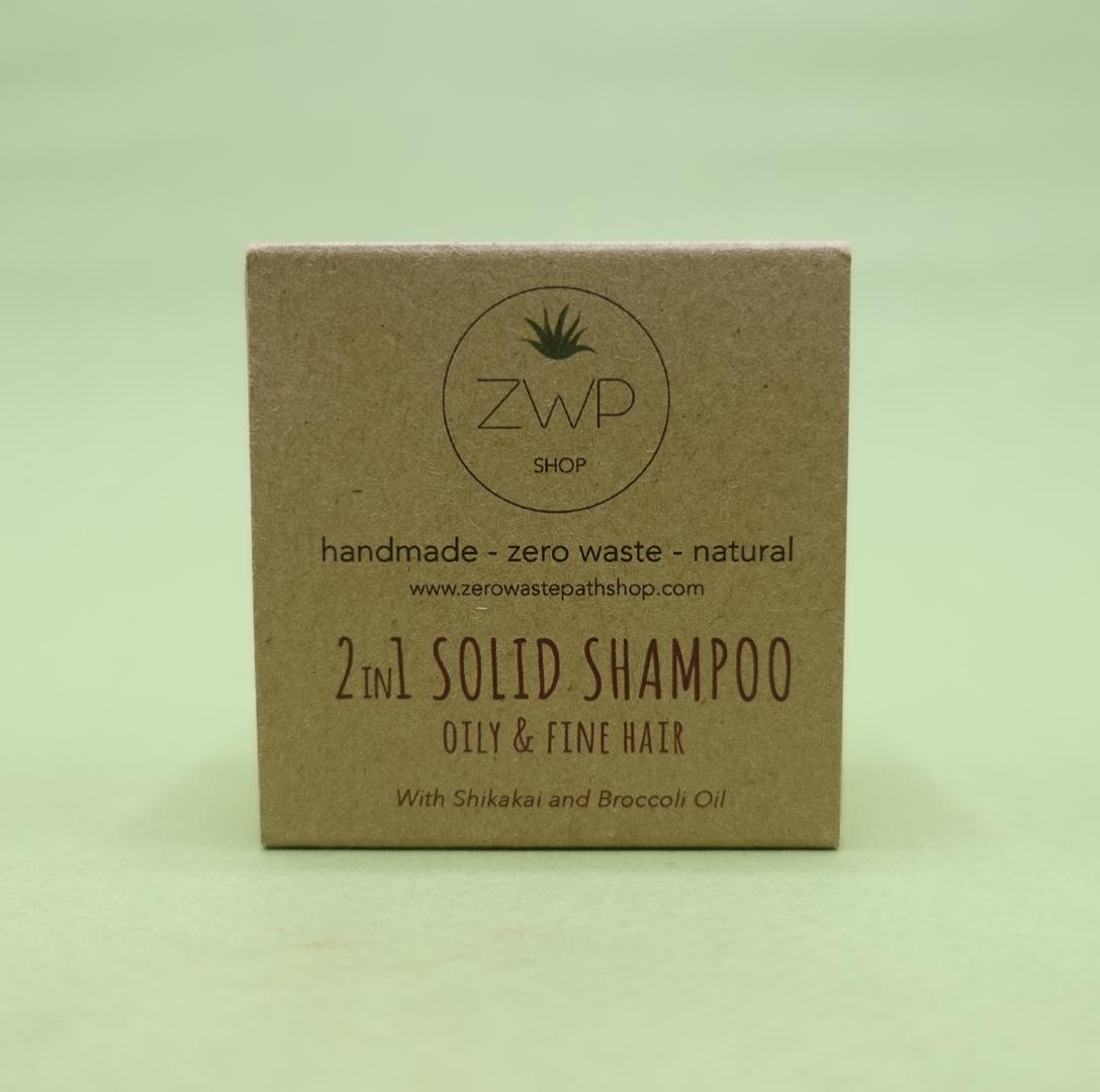 2 in 1 Shampoo Bar - Zero Waste Path