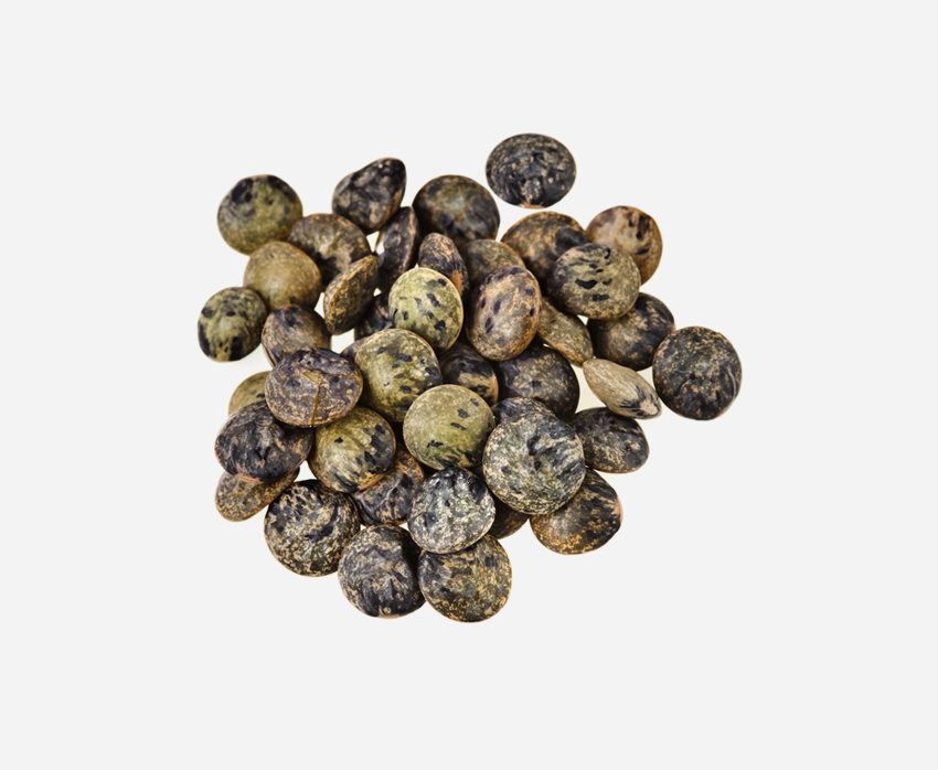 Dark speckled lentils (500g)