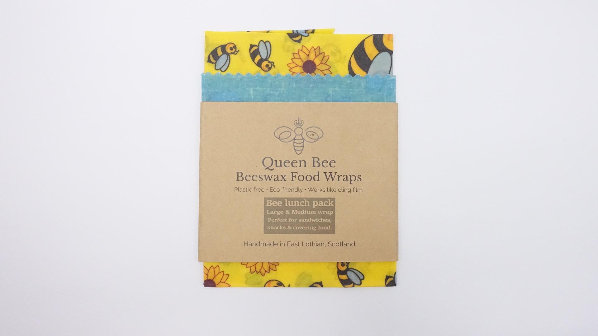 Queen Bee Beeswax Wrap - Bee