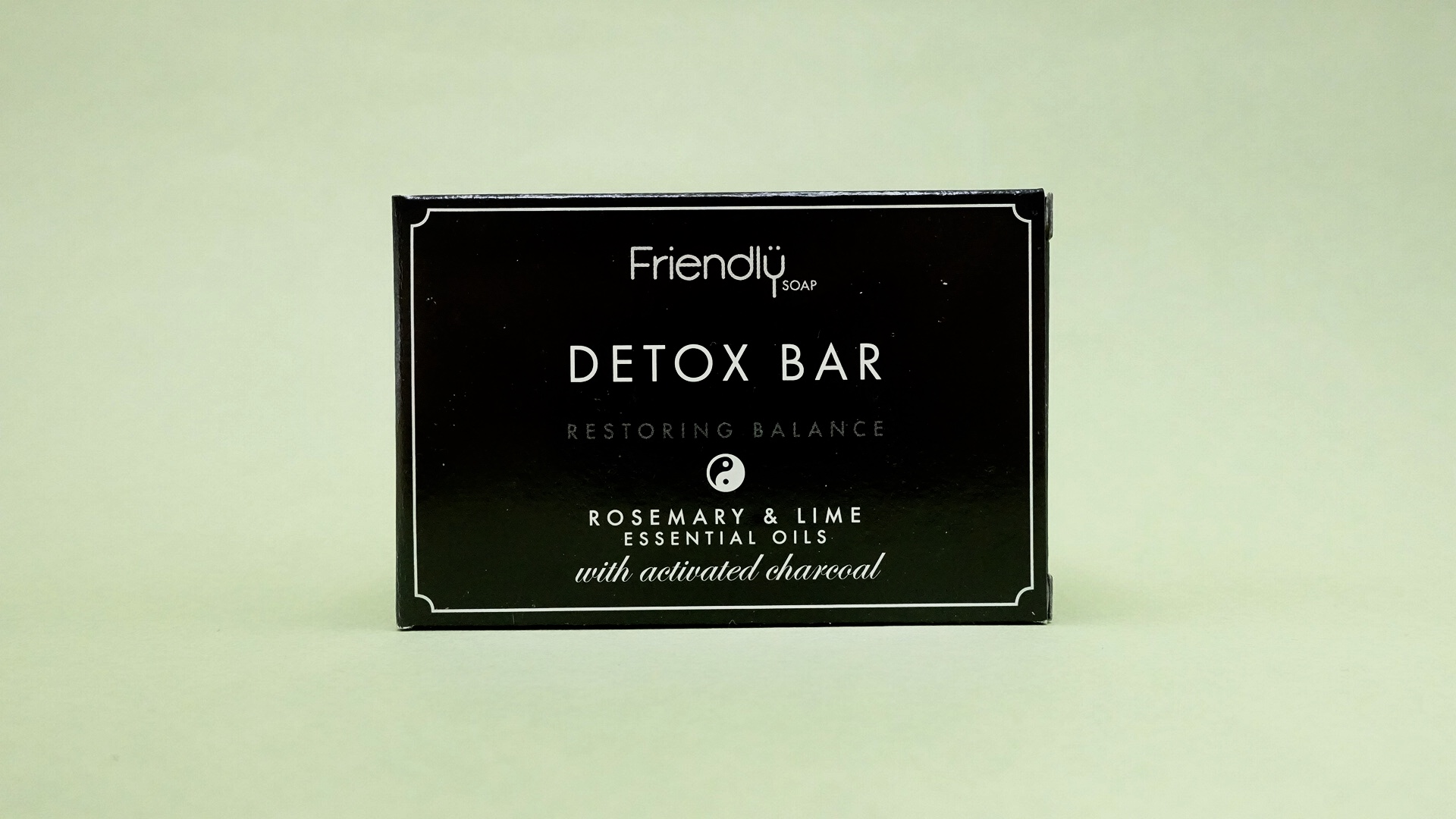 Friendly Soap Rosemary and Lime Detox Bar (with Activated Charcoal)