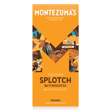 Montezumas Milk Chocolate with Butterscotch