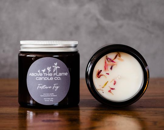 Above the Flame Soy Wax Candle