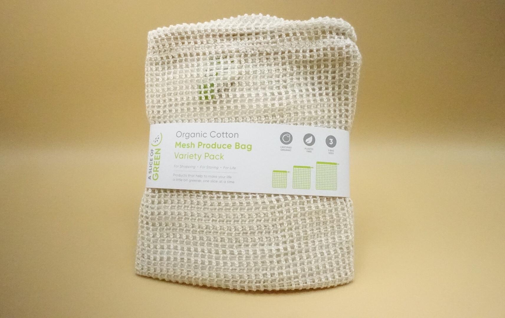 Mesh produce bags 3 pack