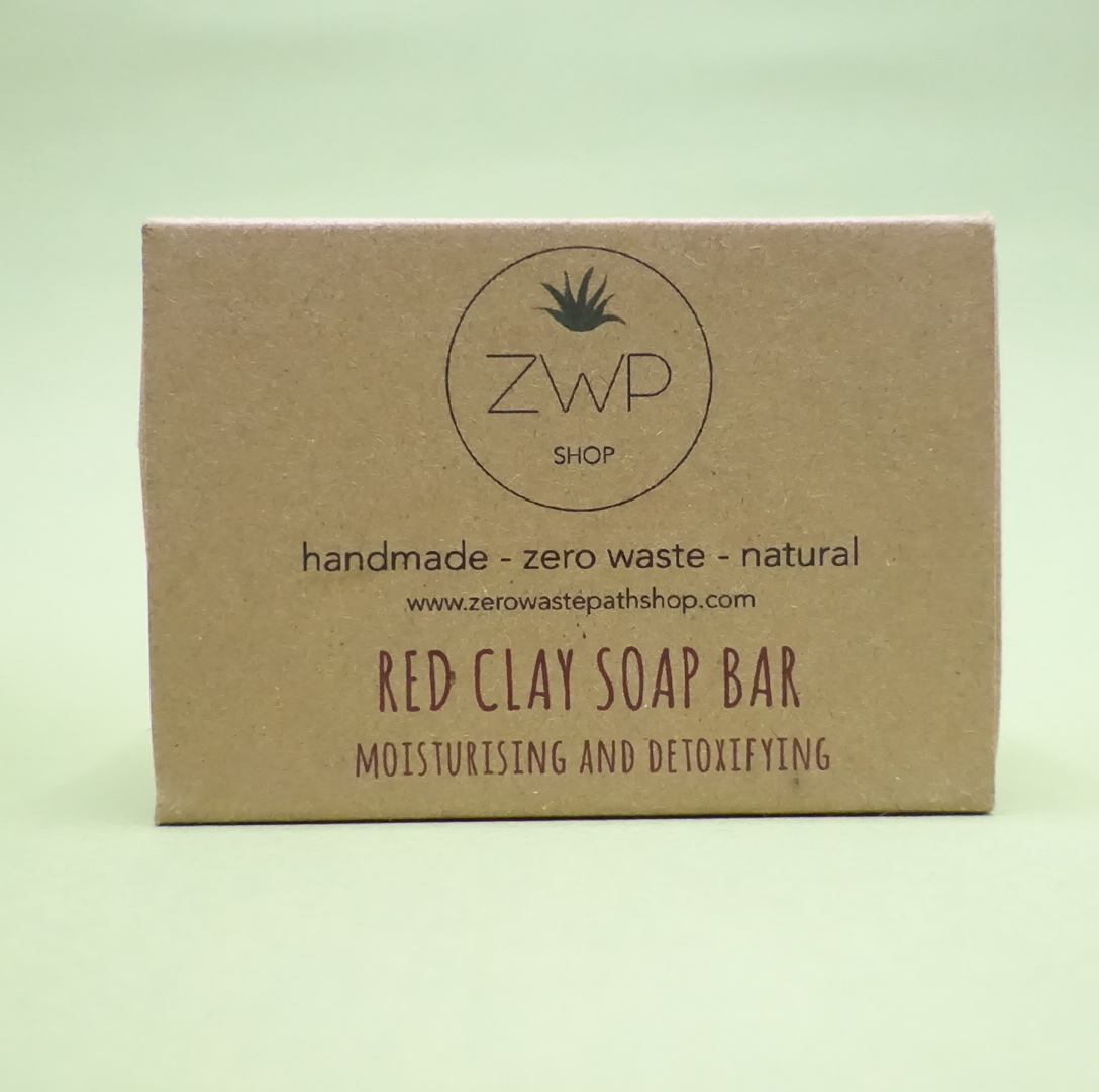 Red Clay Soap - Zero Waste Path