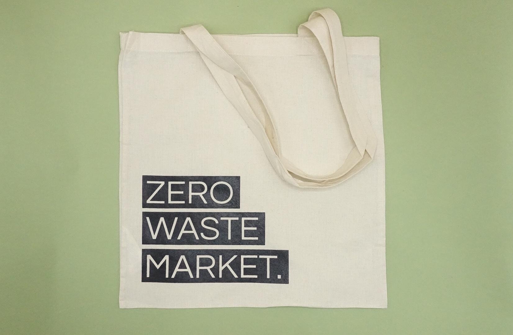 Zero Waste Market Tote Bag