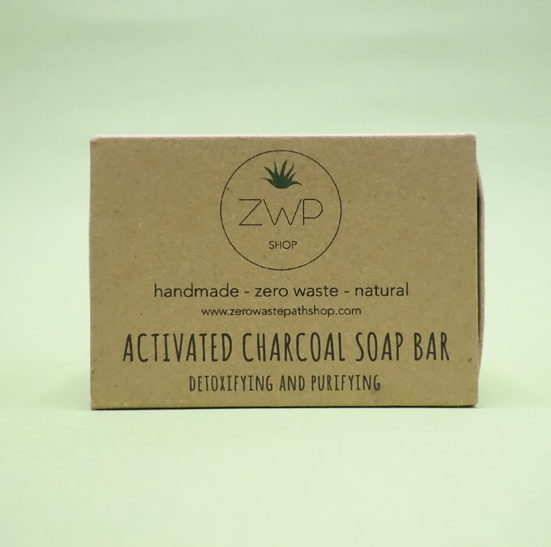 Activated Charcoal Soap Bar: Zero Waste Path